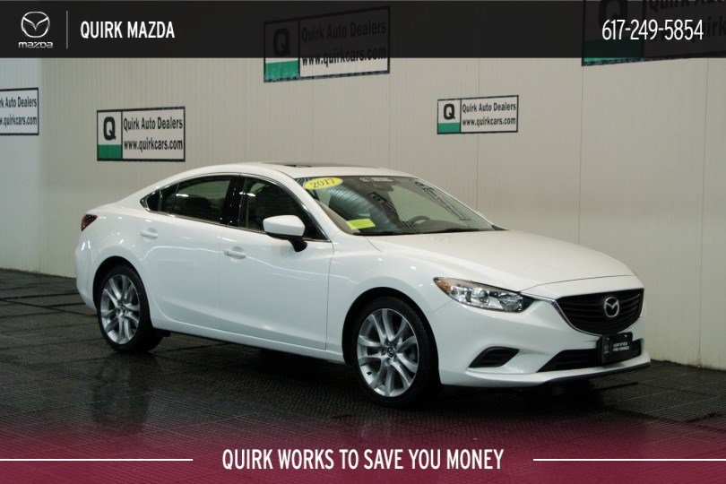Certified Pre-Owned 2017 Mazda6 Touring MoonRoof/Bose